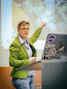 erminas Digitalisierungsworkshops - Dr. Yvette Teiken beim Innovation Workshop