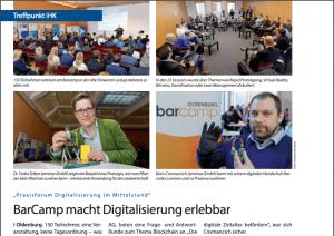 erminas Team at the BarCamp Praxisforum Digitalization Oldenburg