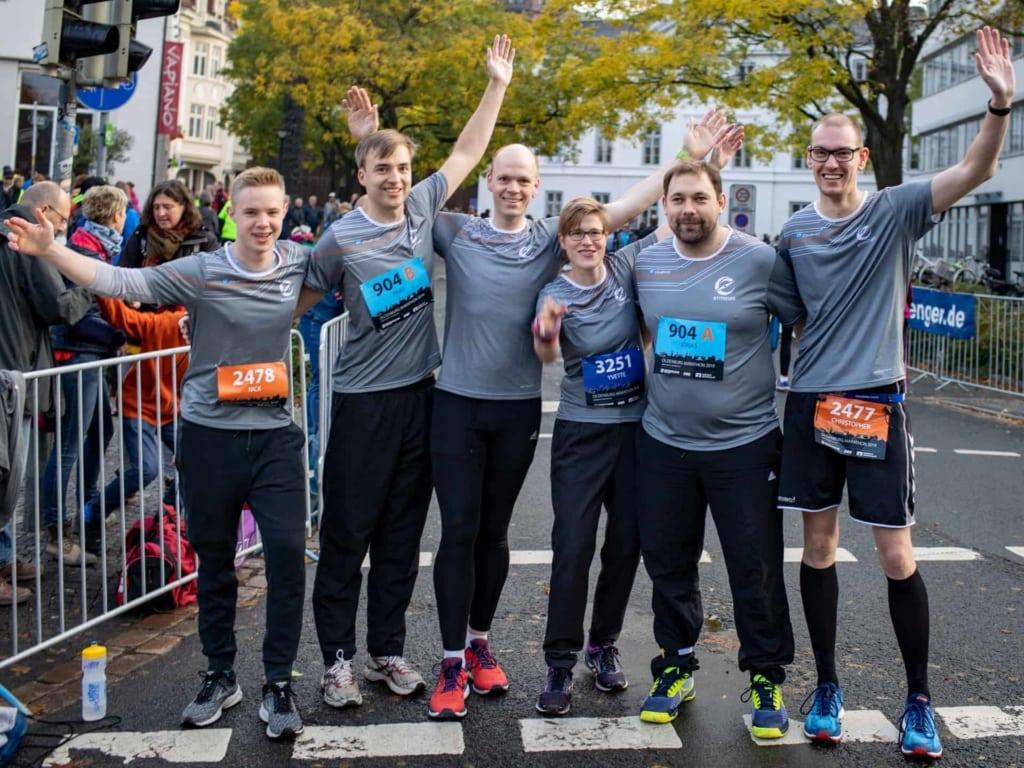 Team erminas beim Oldenburg Marathon 2019